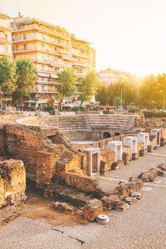 Roman Agora of Thessaloniki Greece Thessaloniki, Macedonia Greece, Travel Ideas, Travel Photos, Travel Inspiration, Greece Photography, Travel Photography, City Break, Greece Travel