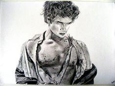 Scott McCall (Tyler Posey) Teen Wolf Fan Art