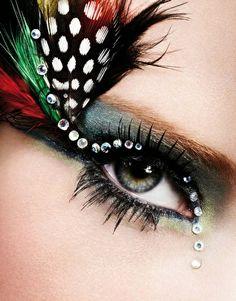 woah feathers & jewels