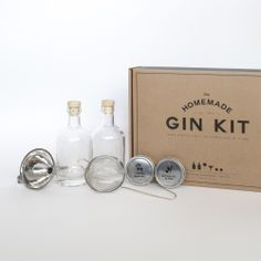 Homemade Gin Kit by W&P Design