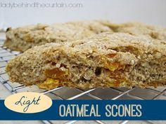 Light Oatmeal Scones