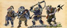 Four_Trolls by Scravagghiupilusu959 on @DeviantArt