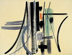 hans hartung - Sans titre - 1947