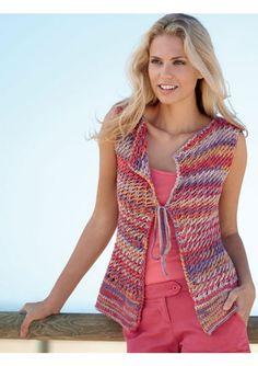 Dans ce guide riche et coloré, suivez les explications techniques pour créer des tricots délicats, légers et agréables à porter.