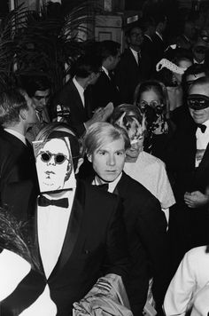 Andy Warhol Truman Capote's Black and White Ball, 1966