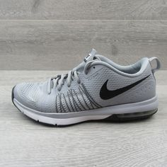 7b92955f97 Nike Air Max Effort TR Flywire Size 10 Mens Running Shoes Grey Black 705353  002 #Nike #RunningShoes