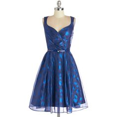 ModCloth Long Sleeveless A-line Your Night to Shine Dress and other apparel, accessories and trends. Browse and shop 25 related looks.
