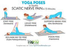 Ejercicios yoga para la #ciática. haraiberia.com