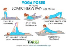 Yoga Poses to Soothe Sciatic Nerve Pain in 15 Minutes