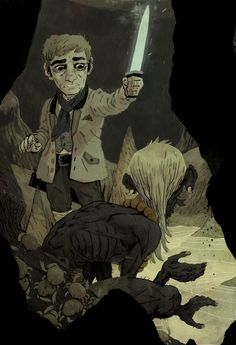 The Hobbit (piece 5) by Sam Bosma 2010 or 2011.