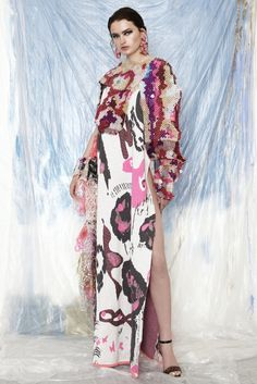 LOOKBOOK - Matty Bovan Fashion Knitwear