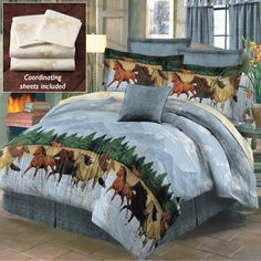 By the Water Bed in a Bag - Horse Themed Gifts, Clothing, Jewelry & Accessories all for Horse Lovers