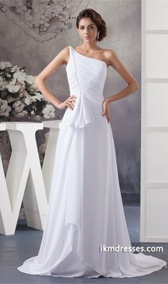 http://www.ikmdresses.com/White-Beading-Puddle-Train-Chiffon-Zipper-back-Wedding-Dress-p21769