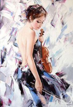 Alexander Gunin / oil, canvas, 80x55cm, 2015.