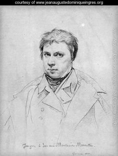 Self Portrait - Jean Auguste Dominique Ingres