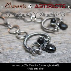 As Seen on The Vampire Diaries ... Black by ElementsArtifacts