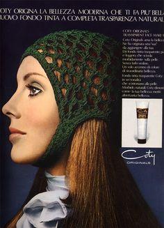 Coty Originals Transparent Face Make-Up Retro Makeup, Beauty Ad, Vintage Beauty, Vintage Fashion, Makati, Fashion Plates, Guns, Crochet Hats, Make Up