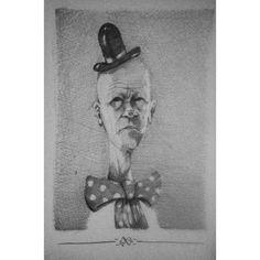 - Oldman clown -  #art #drawing #illustration #clown