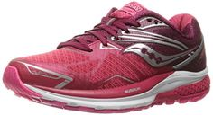 Saucony Womens Ride 9 Running Shoe PinkBerry 10 M US >>> Click on the image for additional details.