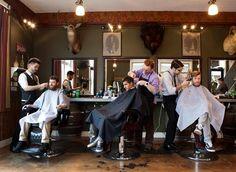 The Modern Man Barber Shop, Portland, OR - Image: vivianjohnson.com