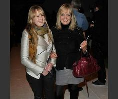 Twiggy wears Balenciaga Twiggy handbag to Bora Aksu London Fashion Week