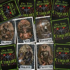 """Ever bought a game and then looked at it months later and thought """"why'd you buy that again?"""". #cthulhu #cardgame #socialdeduction #cthulhumythos #boardgamer #tabletop #tabletopgamer #tabletopgame #boardgame #bgg #boardgamegeek #juegodemesa #gamesnight #boardgames #gamers #hplovecraft #lovecraft #cultists"""