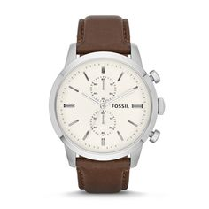Buy Fossil FS4865 Brown Round Analog Watch by E TRADERS RETAIL, on Paytm, Price: Rs.9494?utm_medium=pintrest