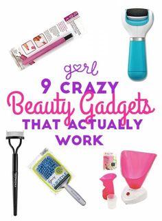 9 Crazy Beauty Gadgets That Actually Work #Beauty #Trusper #Tip