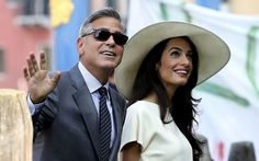 George Clooney and Amal Alamuddin's celebrity-packed Venetian wedding ceremonies.