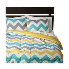 Room Essentials® Chevron Comforter - White Quick Information