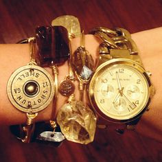 Bourbon and Boweties Bangles coming soon to Details Candy Jewelry, Jewelry Art, Jewelry Accessories, Ammo Jewelry, Couture Accessories, Spring 2015 Fashion, Autumn Fashion, Bourbon And Bowties, Bangle Bracelets