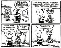 Uma lição de vida com Charlie Brown ahuahuhsuaahu