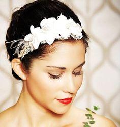 #laceheadband #pretty #florals