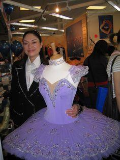 Tamara Grishko (creator of the Grishko Pointe Shoe) & the Lilac Fairy Tutu