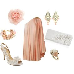 """""""pretty in pink"""" by rinergirl on Polyvore"""