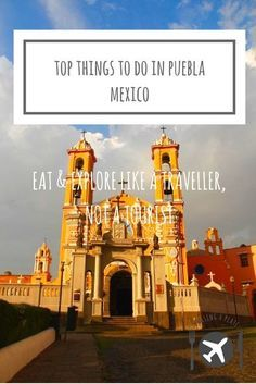 Things to do in Puebla, Mexico. Our travel guide including Puebla food, Puebla points of interest like the Great Pyramid of Cholula, Biblioteca Palafoxiana Mexico Vacation, Mexico Travel, Mexico Destinations, Travel Destinations, Oh The Places You'll Go, Cool Places To Visit, Best Beaches In Mexico, Stuff To Do, Things To Do