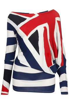 UNION JACK TOP BY WAL G via Topshop £21.00