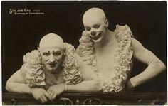 Freaky Clowns from the 1900's-1930's | S.O.M.F