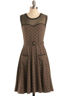 This dress is 10 bucks cheaper over at Ruche for the pink version. But, I still like the brown. I need infinite dollars for dresses.