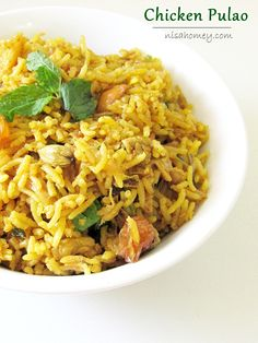 How to make chicken pulao...from scratch! #recipe #chickenrecipes #chickenpulao #pulao