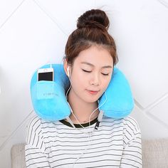 U-Shape Inflatable Pillow Portable Flannel Travel     Tag a friend who would love this!     FREE Shipping Worldwide     Get it here ---> https://www.cancoot.com/u-shape-inflatable-pillow-portable-flannel-travel/