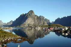 Reine, Norway - Enjoyed riding bicycles here with the wind in my hair and the summer sun on my face.