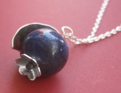 BlueBerry Necklace by sudlow on Etsy, $26.00