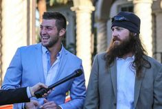 Tim Tebow and Duck Dynasty's Jase Robertson Spend Easter Together In the Manliest Way Possible