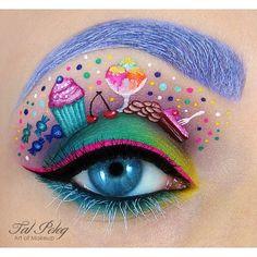 tal_peleg SUGAR RUSH #cosmetics #makeup #eye