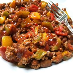 Chili con Carne à la Weight Watchers, slechts 6 Points pp. Weight Watchers Chili, Easy Healthy Recipes, Great Recipes, Vegetarian Recipes, Easy Meals, Nutritious Breakfast, Tex Mex, Food Porn, Food And Drink