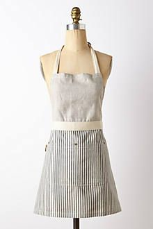 Anthropologie apron I think I could totally make myself!! (for way less than $88!)