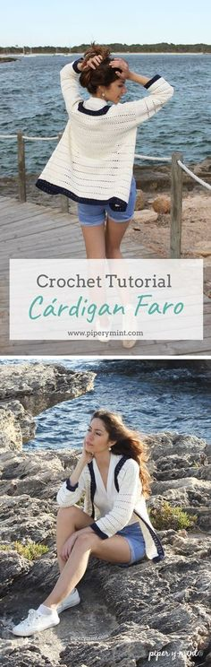 57 ideas crochet poncho outfit ideas for 2019 Gilet Crochet, Crochet Cardigan, Crochet Shawl, Crochet Lace, Cardigans Crochet, Crochet Clothes, Moda Crochet, Poncho Outfit, Creations