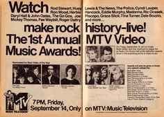 In 1984, the channel produced its first MTV Video Music Awards show, or VMAs.