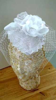 Wedding Bridal Head Piece Western or Vintage by MartiMaginnis